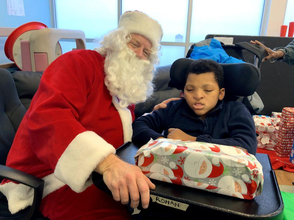 A wonderful Santa visit
